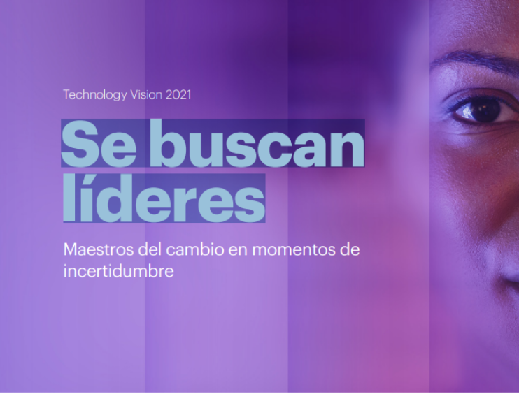 Se buscan líderes, reporte realizado por Accenture